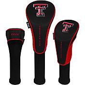 Team Effort Texas Tech Red Raiders Headcovers - 3 Pack