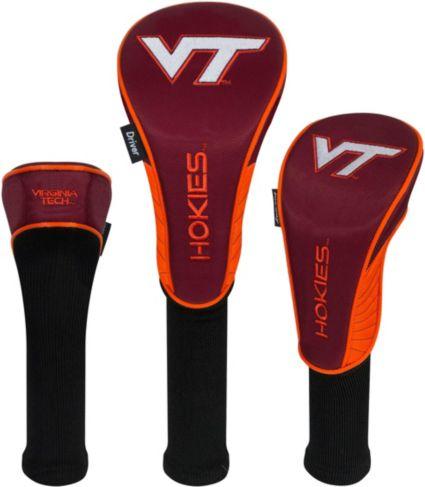 Team Effort Virginia Tech Hokies Headcovers - 3 Pack