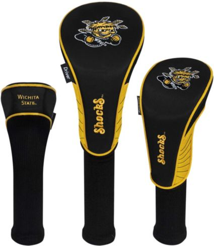 Team Effort Wichita State Shockers Headcovers - 3 Pack