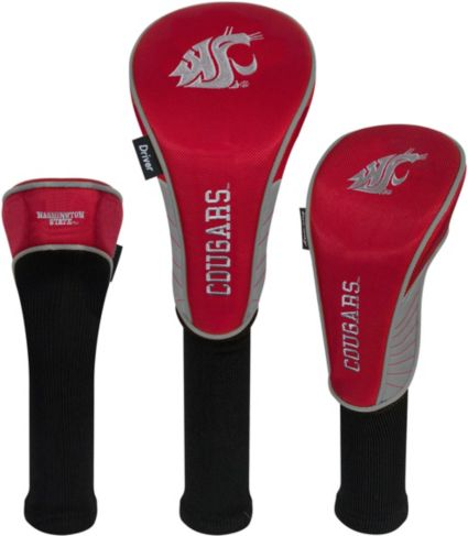 Team Effort Washington State Cougars Headcovers - 3 Pack
