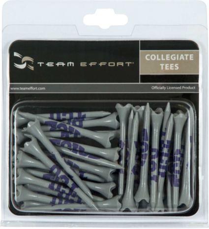"""Team Effort TCU Horned Frogs 2.75"""" Golf Tees - 40 Pack"""