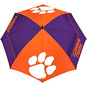 "Team Effort Clemson Tigers 62"" Windsheer Lite Golf Umbrella"