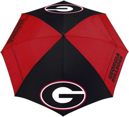 "Team Effort Georgia Bulldogs 62"" Windsheer Lite Golf Umbrella"