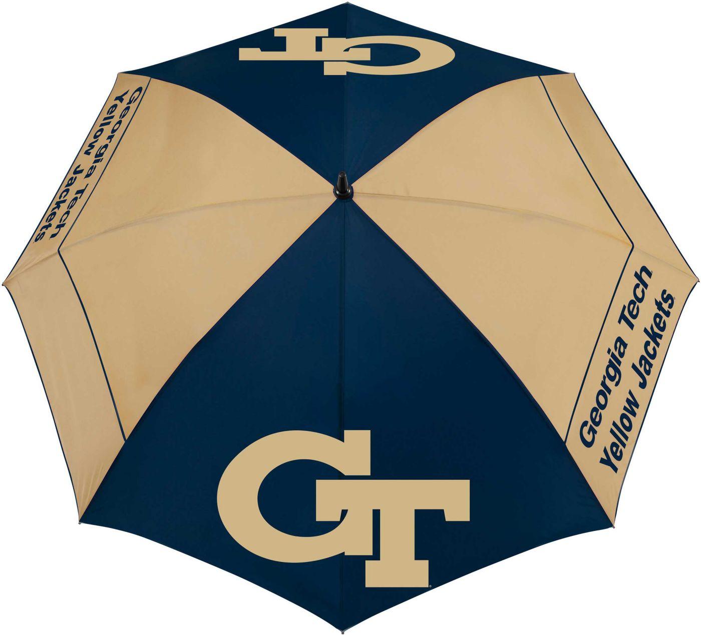 "Team Effort Georgia Tech Yellow Jackets 62"" Windsheer Lite Golf Umbrella"
