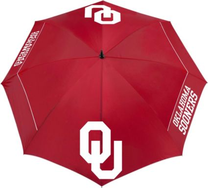 "Team Effort Oklahoma Sooners 62"" Windsheer Lite Golf Umbrella"