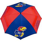 "Team Effort Kansas Jayhawks 62"" Windsheer Lite Golf Umbrella"