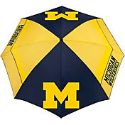 "Team Effort Michigan Wolverines 62"" Windsheer Lite Golf Umbrella"