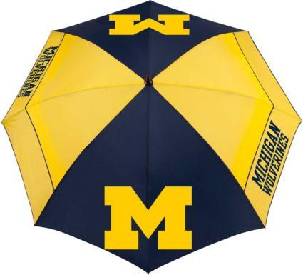 "Team Effort Michigan Wolverines 62"" Windsheer Lite Golf Umbrella"