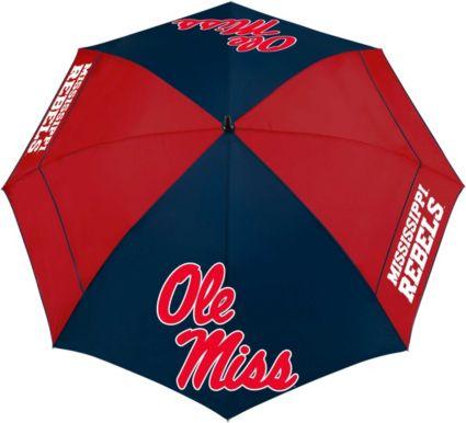 "Team Effort Ole Miss Rebels 62"" Windsheer Lite Golf Umbrella"