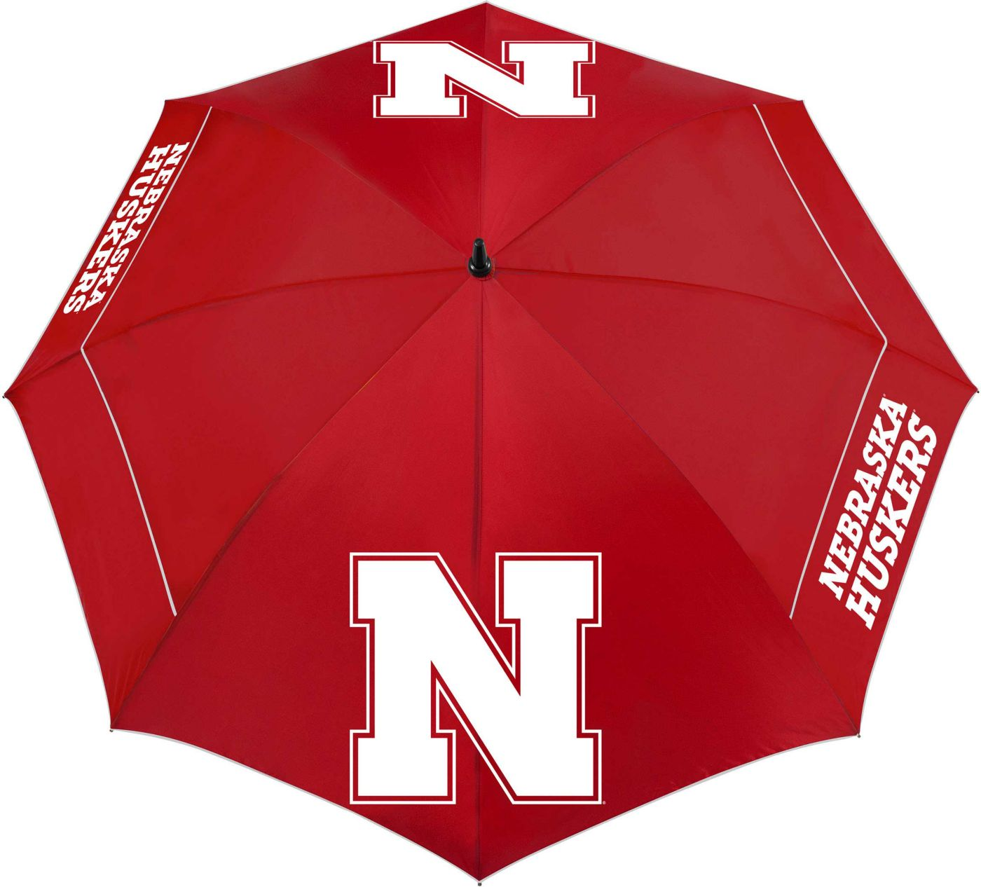 "Team Effort Nebraska Cornhuskers 62"" Windsheer Lite Golf Umbrella"