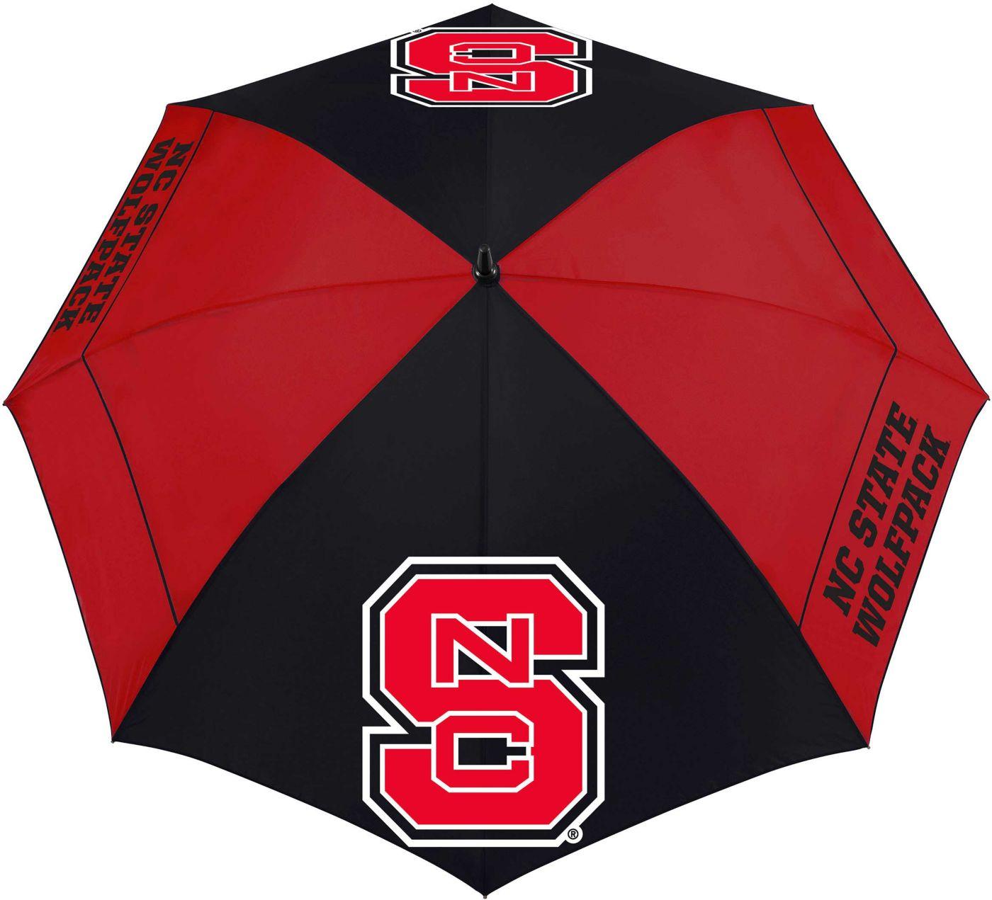 "Team Effort NC State Wolfpack 62"" Windsheer Lite Golf Umbrella"