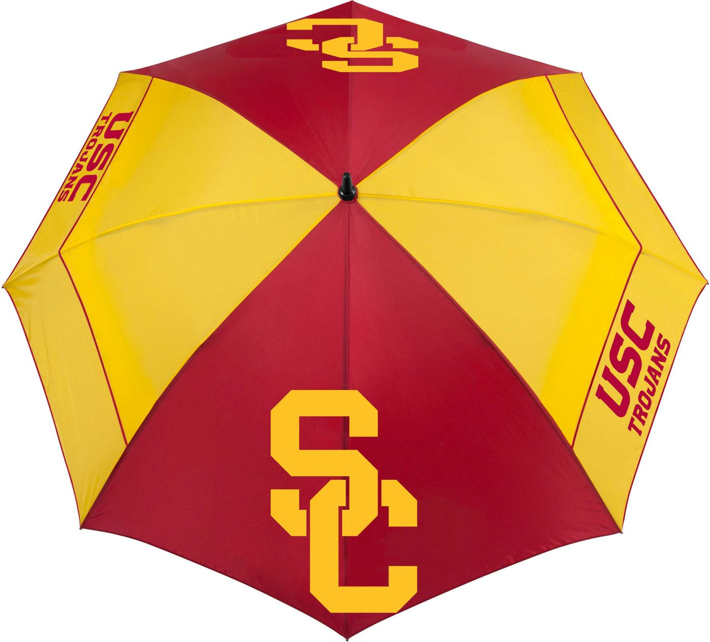 "Team Effort USC Trojans 62"" Windsheer Lite Golf Umbrella"