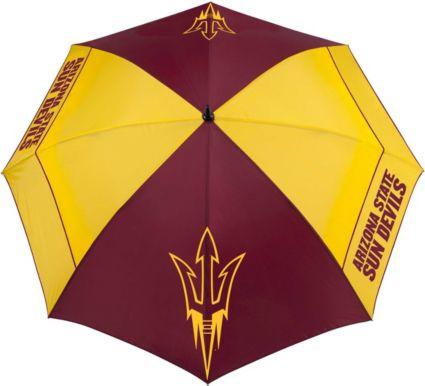 "Team Effort Arizona State Sun Devils 62"" Windsheer Lite Golf Umbrella"