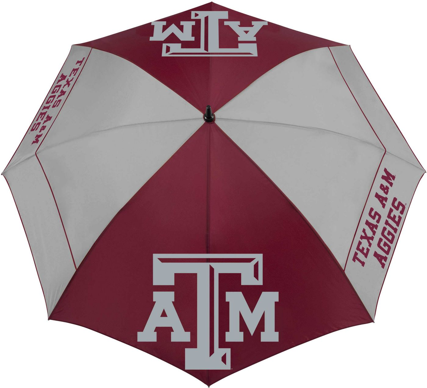 "Team Effort Texas A&M Aggies 62"" Windsheer Lite Golf Umbrella"