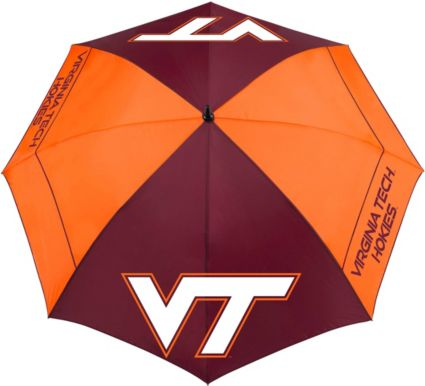 "Team Effort Virginia Tech Hokies 62"" Windsheer Lite Golf Umbrella"