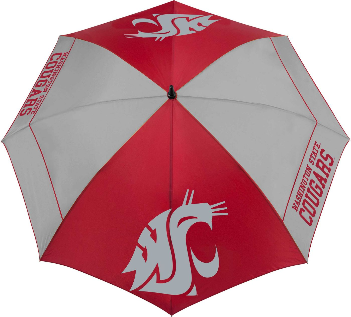 "Team Effort Washington State Cougars 62"" Windsheer Lite Golf Umbrella"