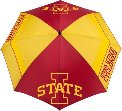 "Team Effort Iowa State Cyclones 62"" Windsheer Lite Golf Umbrella"