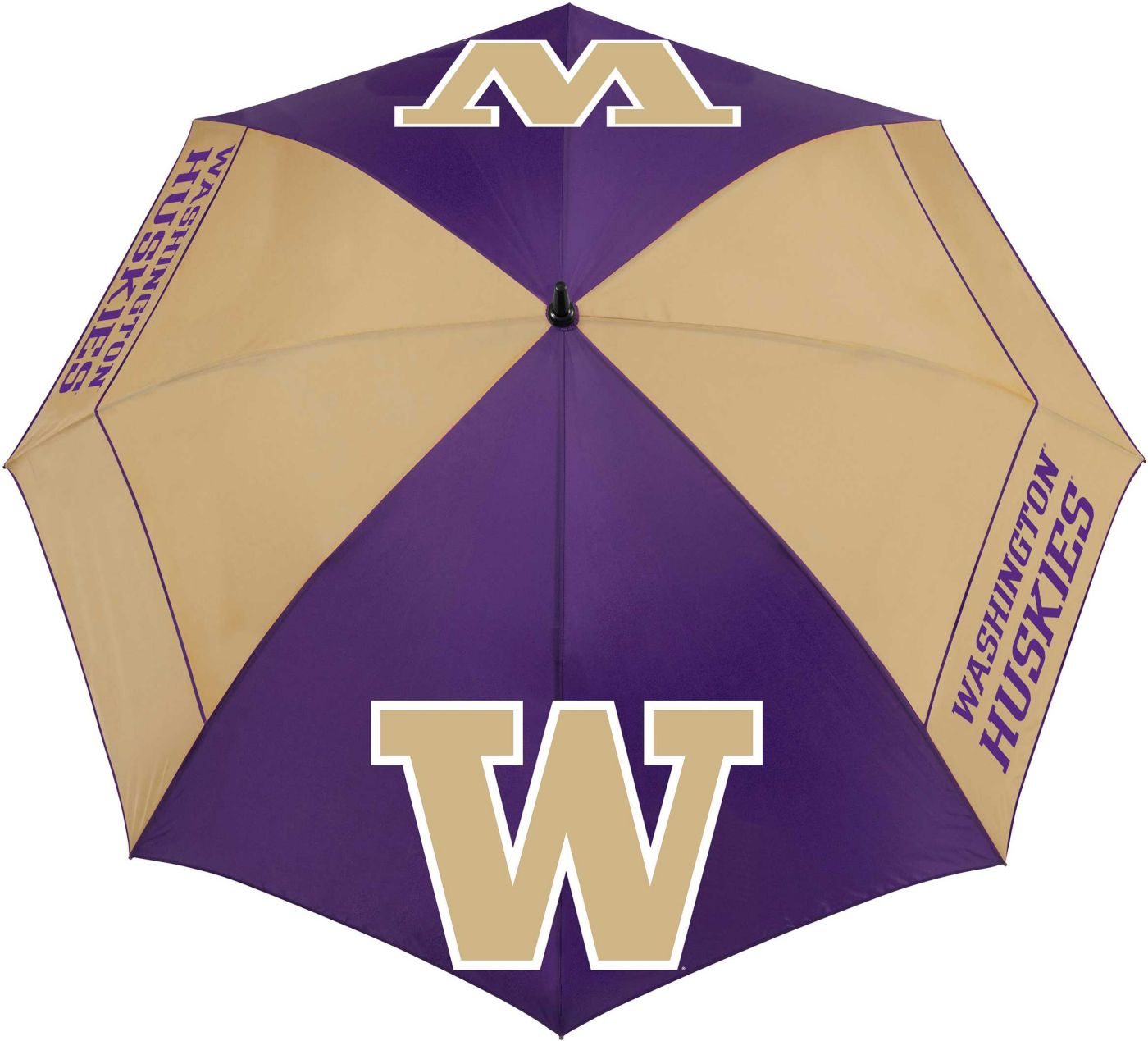 "Team Effort Washington Huskies 62"" Windsheer Lite Golf Umbrella"