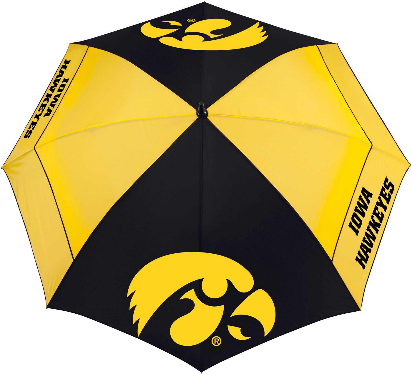 "Team Effort Iowa Hawkeyes 62"" Windsheer Lite Golf Umbrella"