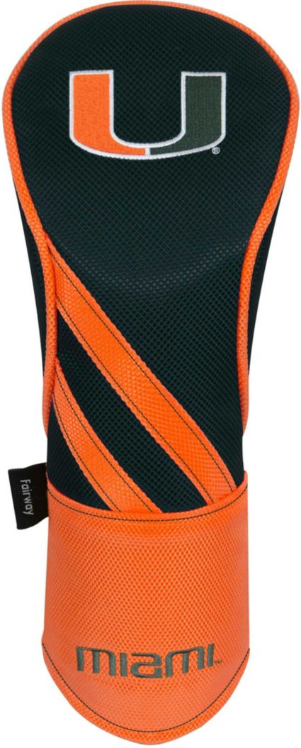 Team Effort Miami Hurricanes Fairway Wood Headcover
