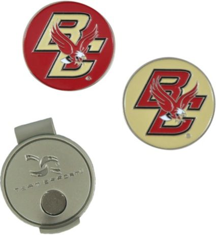 Team Effort Boston College Eagles Hat Clip and Ball Markers Set