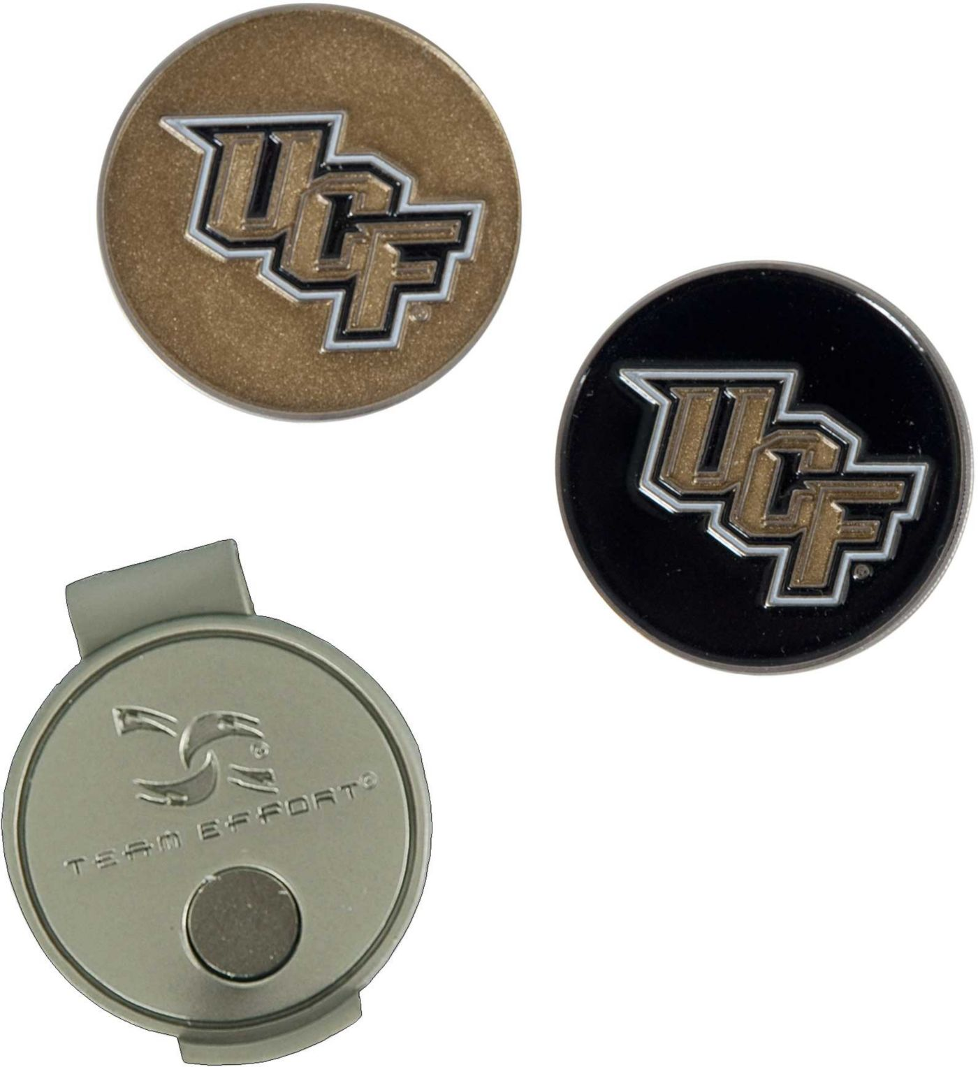Team Effort UCF Knights Hat Clip and Ball Markers Set