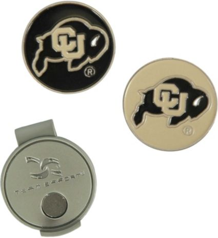 Team Effort Colorado Buffaloes Hat Clip and Ball Markers Set