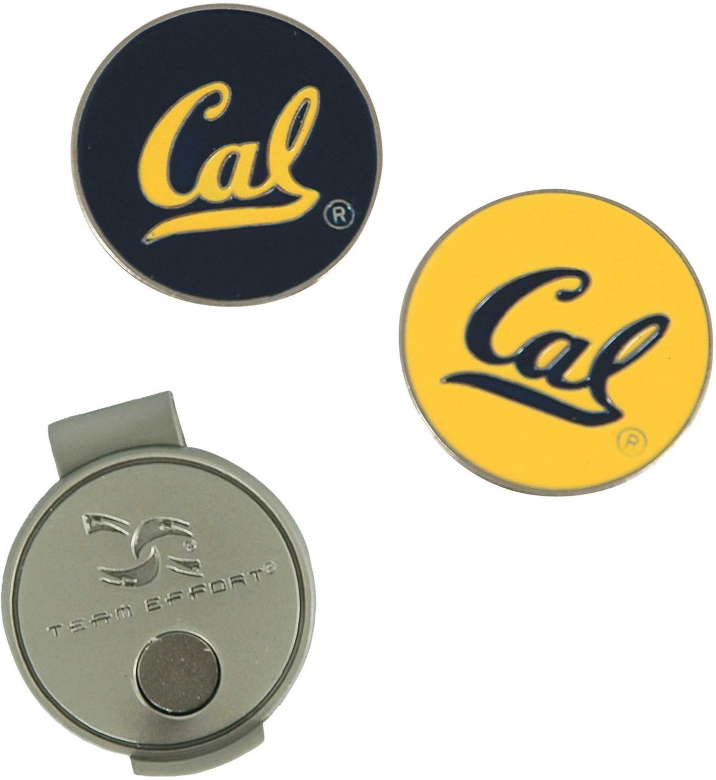 Team Effort Cal Golden Bears Hat Clip and Ball Markers Set
