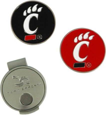 Team Effort Cincinnati Bearcats Hat Clip and Ball Markers Set