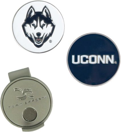 Team Effort UConn Huskies Hat Clip and Ball Markers Set