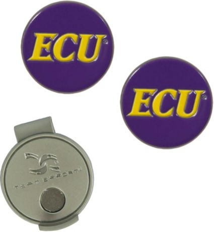 Team Effort East Carolina Pirates Hat Clip and Ball Markers Set