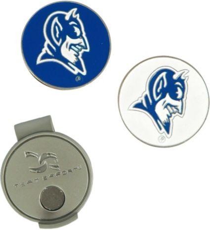Team Effort Duke Blue Devils Hat Clip and Ball Markers Set