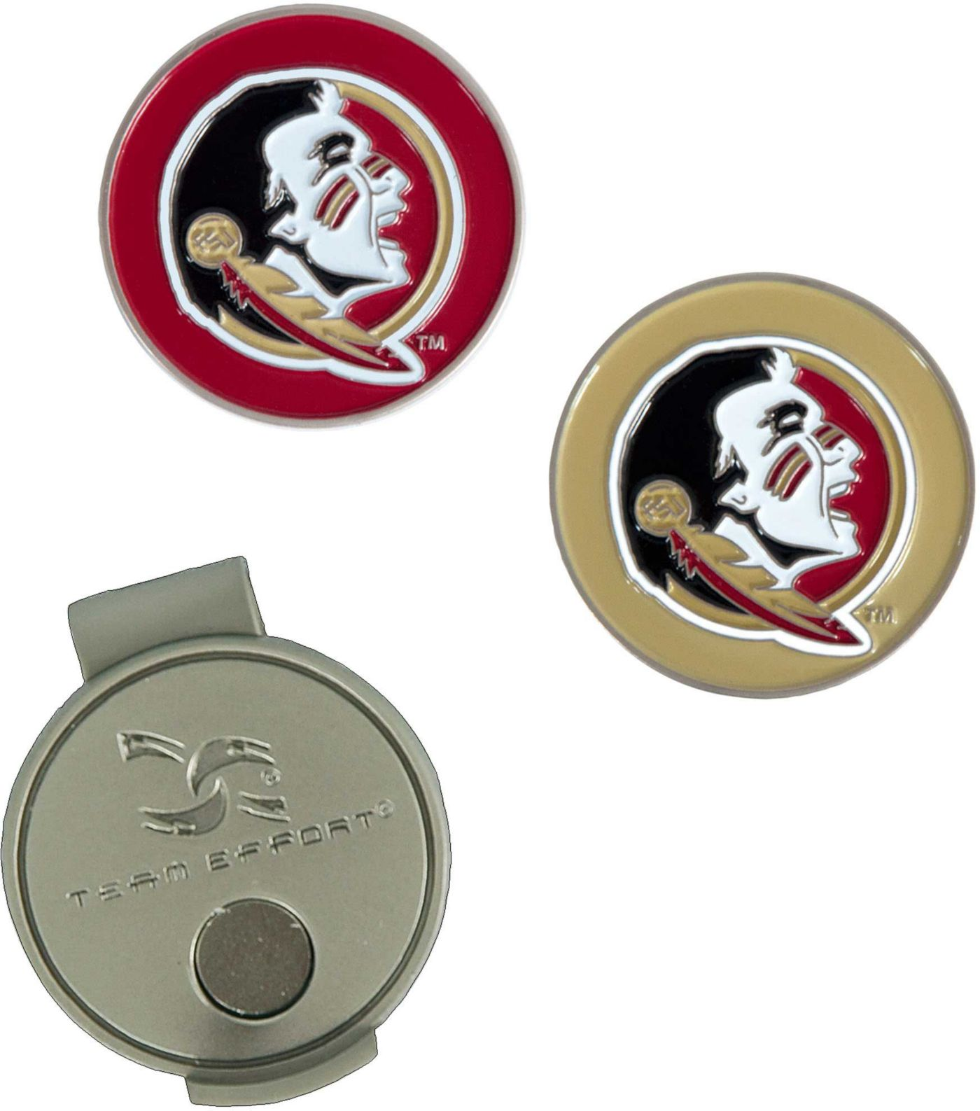 Team Effort Florida State Seminoles Hat Clip and Ball Markers Set