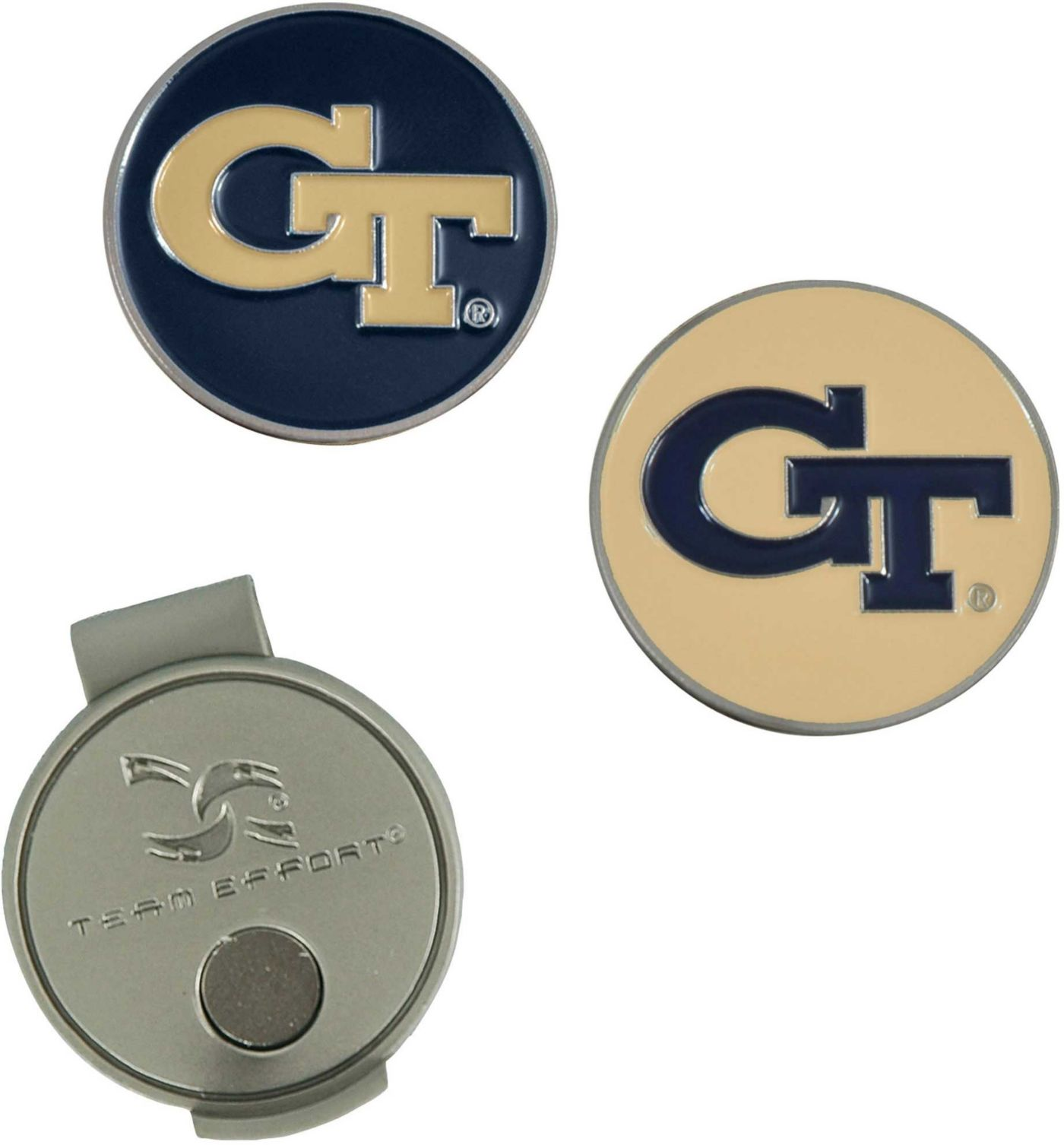 Team Effort Georgia Tech Yellow Jackets Hat Clip and Ball Markers Set