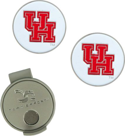 Team Effort Houston Cougars Hat Clip and Ball Markers Set