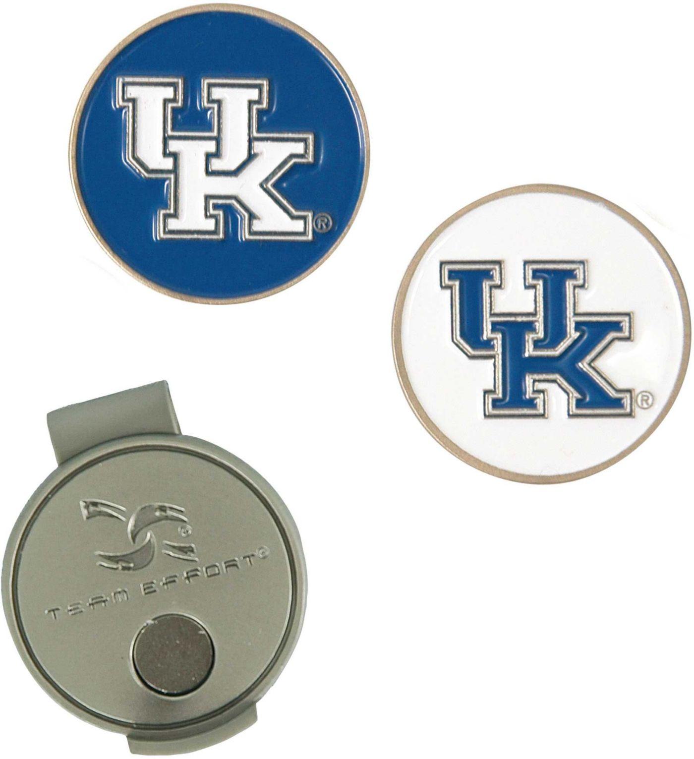 Team Effort Kentucky Wildcats Hat Clip and Ball Markers Set
