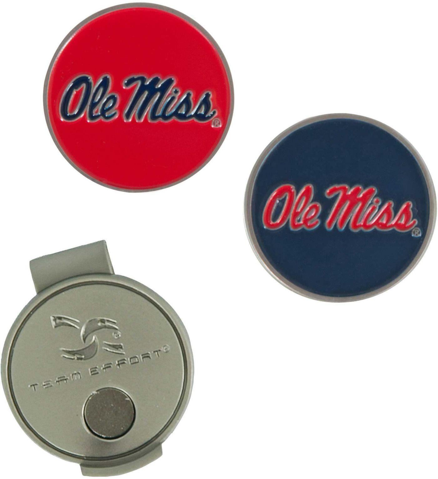 Team Effort Ole Miss Rebels Hat Clip and Ball Markers Set