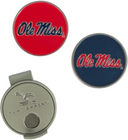 Team Effort Ole Miss Rebels Hat Clip and Ball Markers Set