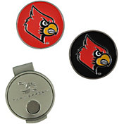 Team Effort Louisville Cardinals Hat Clip and Ball Markers Set