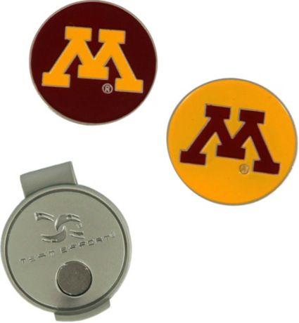 Team Effort Minnesota Golden Gophers Hat Clip and Ball Markers Set