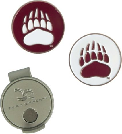 Team Effort Montana Grizzlies Hat Clip and Ball Markers Set