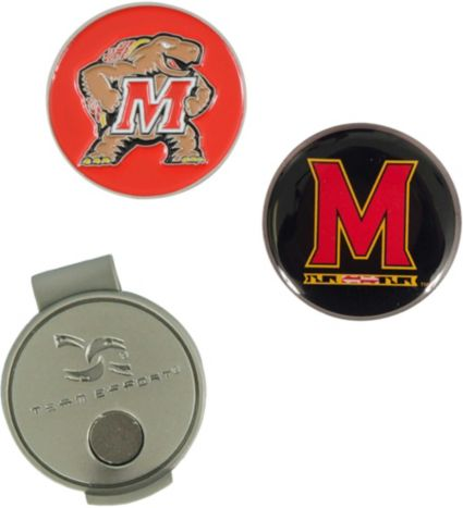 Team Effort Maryland Terrapins Hat Clip and Ball Markers Set
