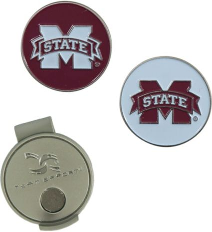 Team Effort Mississippi State Bulldogs Hat Clip and Ball Markers Set