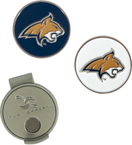 Team Effort Montana State Bobcats Hat Clip and Ball Markers Set