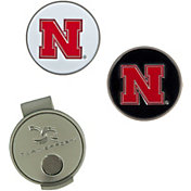 Team Effort Nebraska Cornhuskers Hat Clip and Ball Markers Set