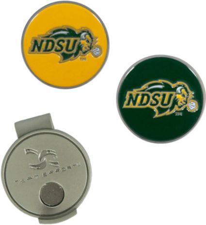 Team Effort North Dakota State Bison Hat Clip and Ball Markers Set