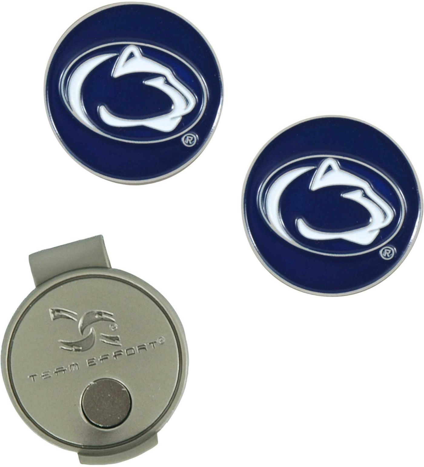 Team Effort Penn State Nittany Lions Hat Clip and Ball Markers Set