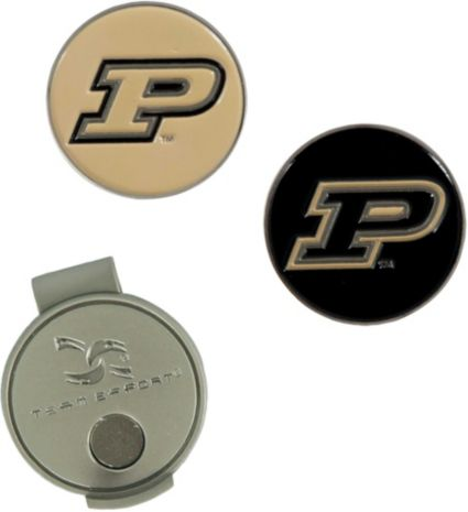 Team Effort Purdue Boilermakers Hat Clip and Ball Markers Set
