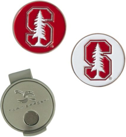 Team Effort Stanford Cardinal Hat Clip and Ball Markers Set
