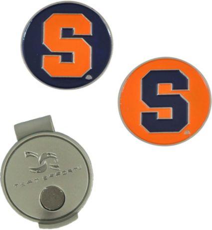 Team Effort Syracuse Orange Hat Clip and Ball Markers Set